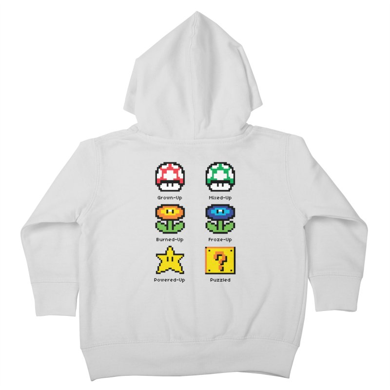 8-Bit Feelings Kids Toddler Zip-Up Hoody by zone31designs's Artist Shop