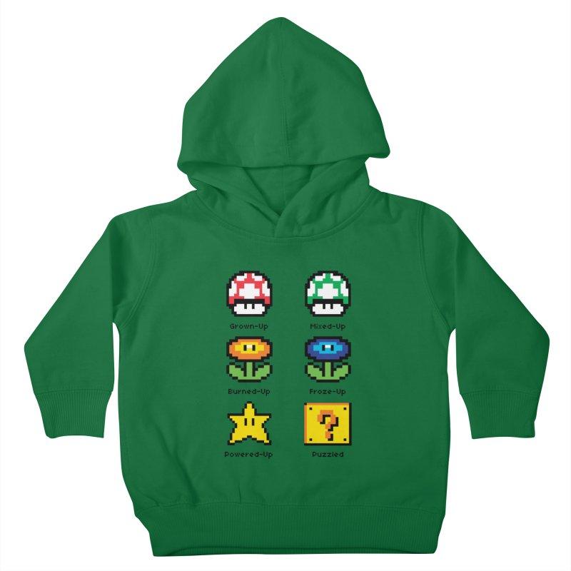 8-Bit Feelings Kids Toddler Pullover Hoody by zone31designs's Artist Shop