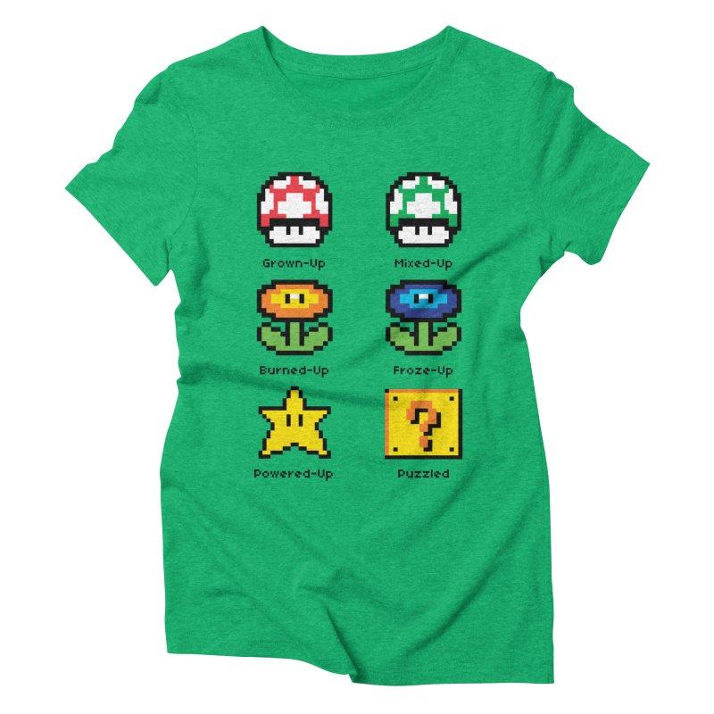 8-Bit Feelings Women's Triblend T-shirt by zone31designs's Artist Shop