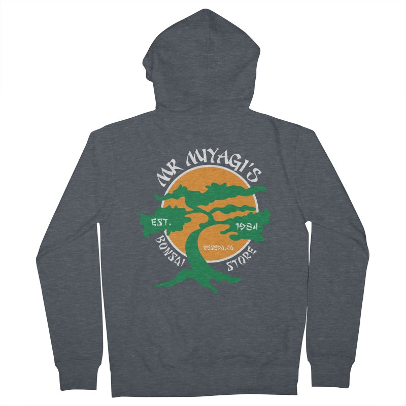 Mister Miyagi's Store Women's Zip-Up Hoody by zone31designs's Artist Shop
