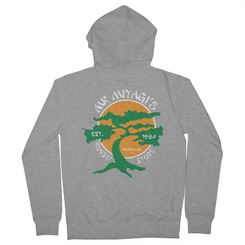 Mister Miyagi's Store Men's Zip-Up Hoody by zone31designs's Artist Shop