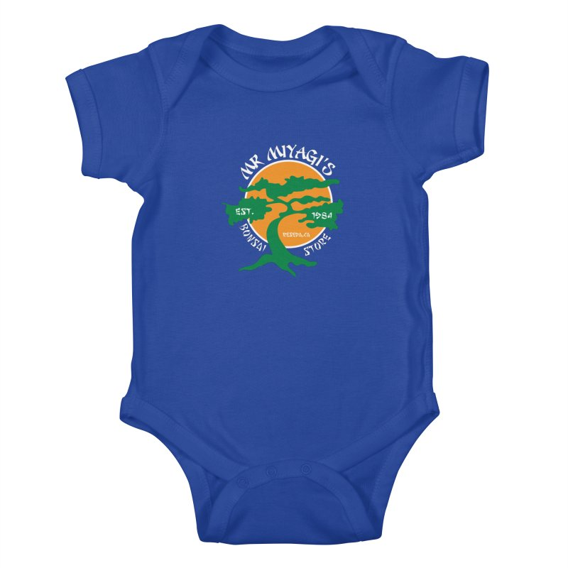 Mister Miyagi's Store Kids Baby Bodysuit by zone31designs's Artist Shop