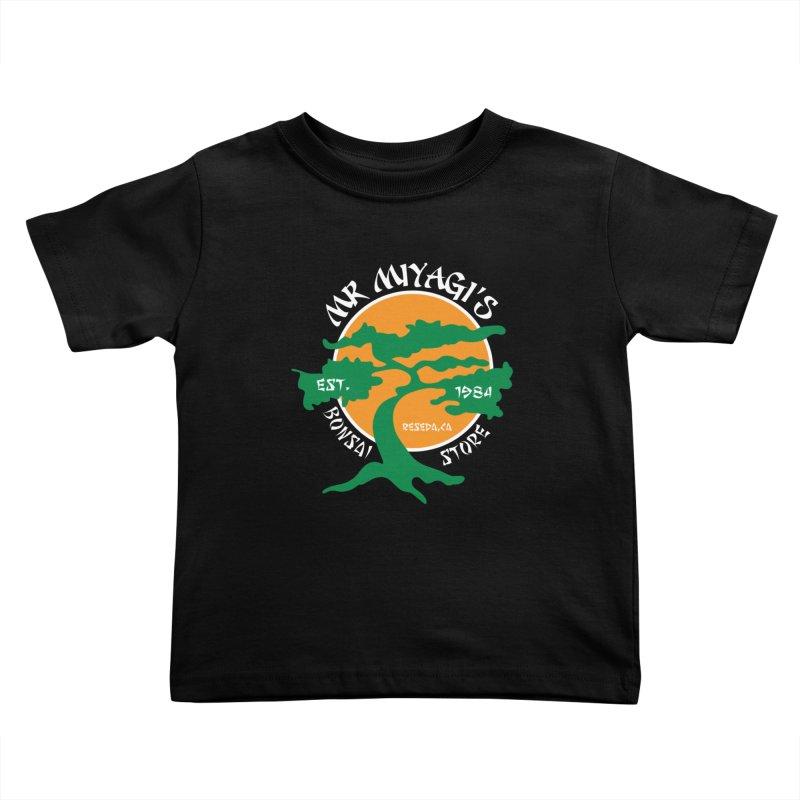 Mister Miyagi's Store Kids Toddler T-Shirt by zone31designs's Artist Shop