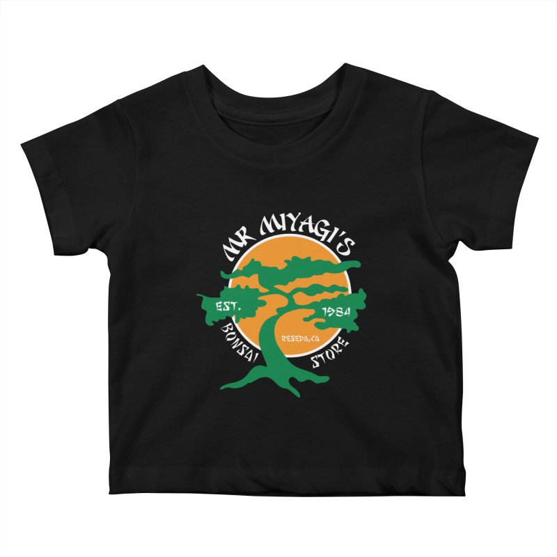 Mister Miyagi's Store Kids Baby T-Shirt by zone31designs's Artist Shop