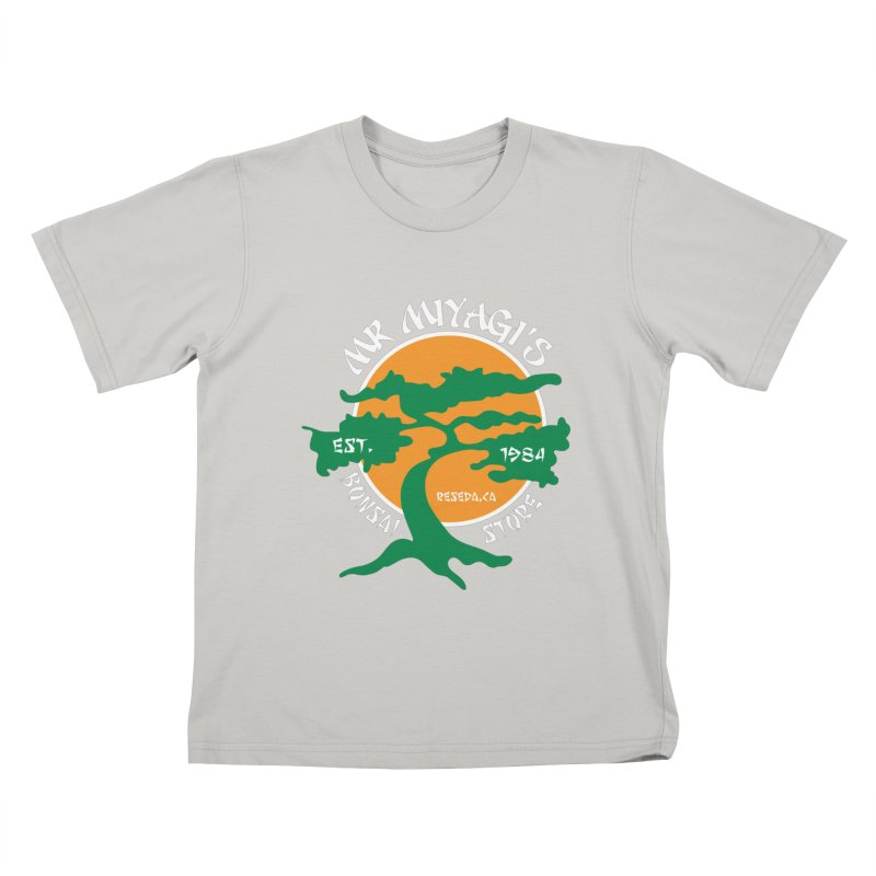 Mister Miyagi's Store Kids T-shirt by zone31designs's Artist Shop