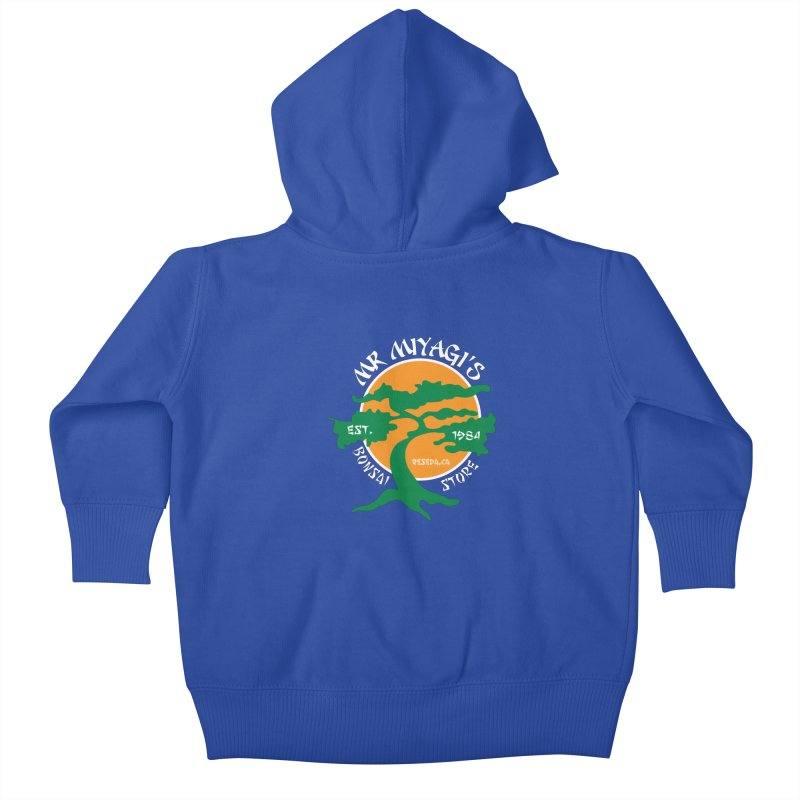 Mister Miyagi's Store Kids Baby Zip-Up Hoody by zone31designs's Artist Shop