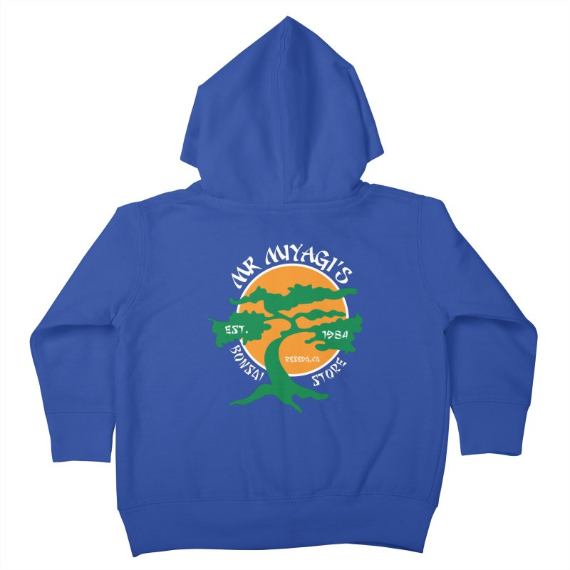 Mister Miyagi's Store Kids Toddler Zip-Up Hoody by zone31designs's Artist Shop