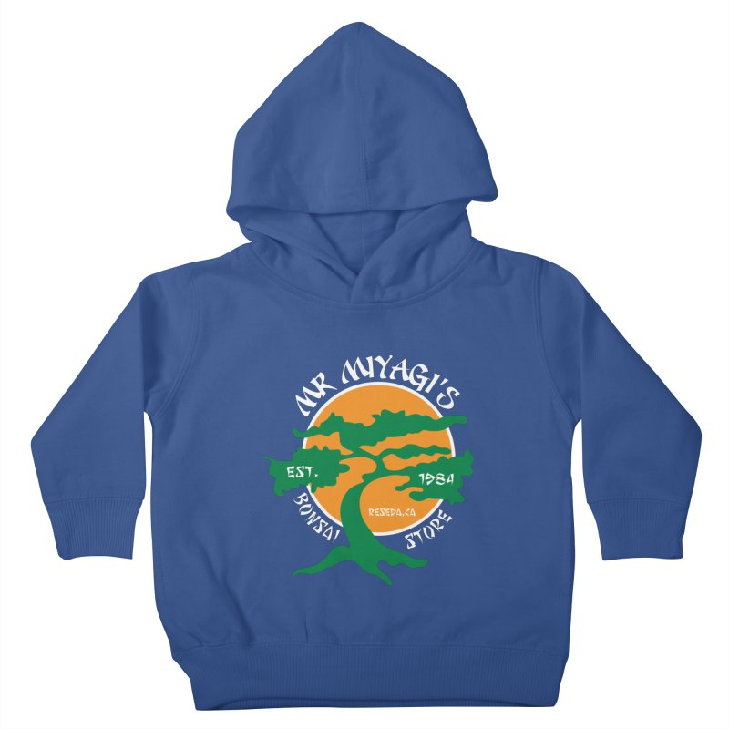 Mister Miyagi's Store Kids Toddler Pullover Hoody by zone31designs's Artist Shop