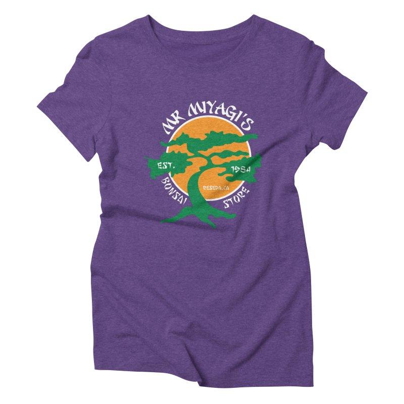 Mister Miyagi's Store Women's Triblend T-shirt by zone31designs's Artist Shop