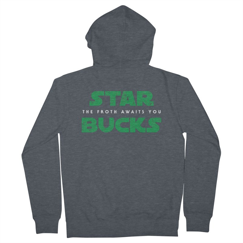The Froth Awaits You  Men's Zip-Up Hoody by zone31designs's Artist Shop