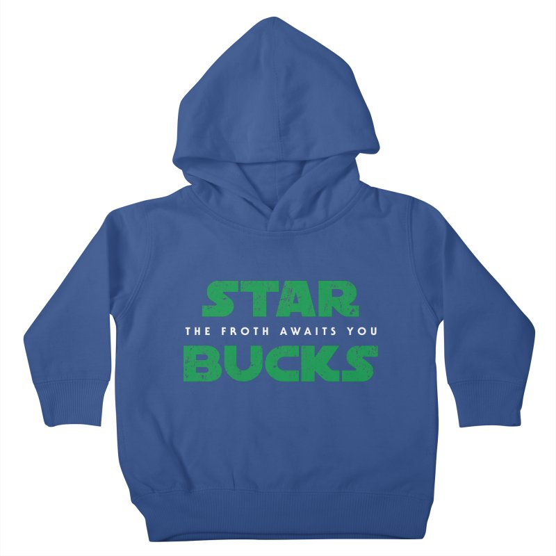 The Froth Awaits You  Kids Toddler Pullover Hoody by zone31designs's Artist Shop
