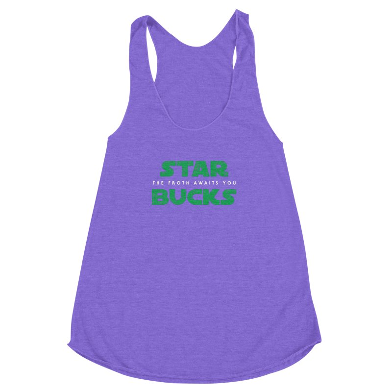 The Froth Awaits You  Women's Racerback Triblend Tank by zone31designs's Artist Shop