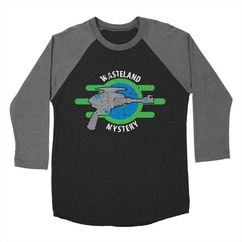 Wasteland Mystery Men's Baseball Triblend T-Shirt by zone31designs's Artist Shop
