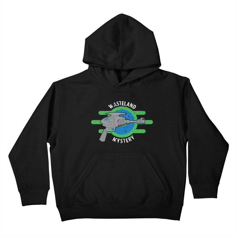 Wasteland Mystery Kids Pullover Hoody by zone31designs's Artist Shop
