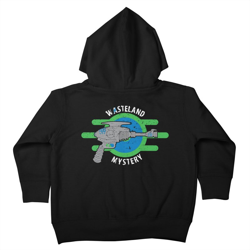 Wasteland Mystery Kids Toddler Zip-Up Hoody by zone31designs's Artist Shop