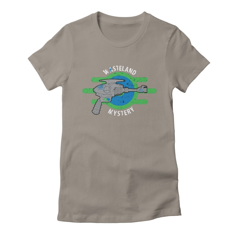 Wasteland Mystery Women's Fitted T-Shirt by zone31designs's Artist Shop