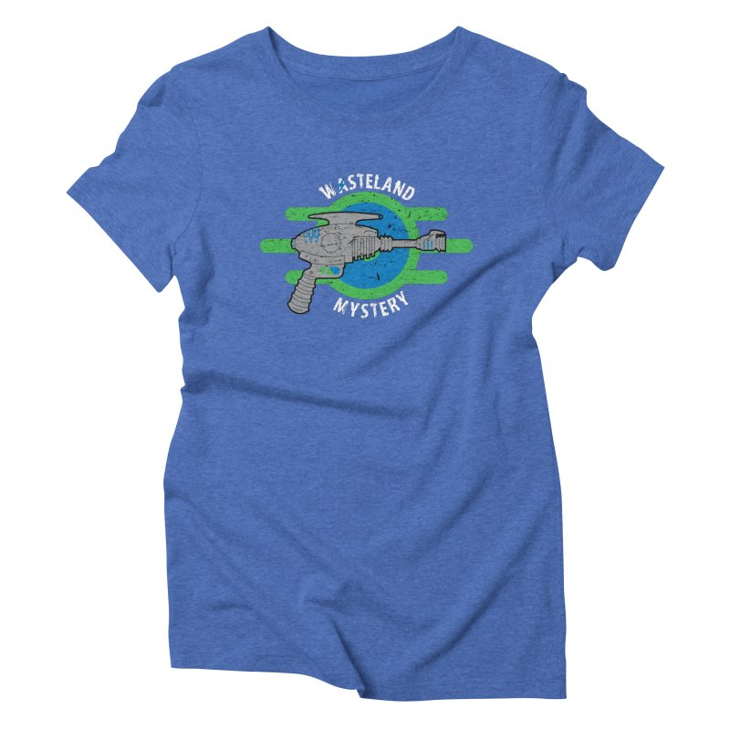 Wasteland Mystery Women's Triblend T-shirt by zone31designs's Artist Shop
