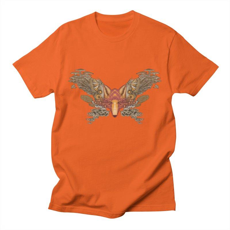 Fox fungi Men's T-Shirt by Aaron Zonka's Artist Shop