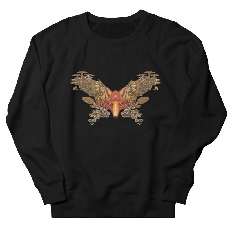 Fox fungi Women's Sweatshirt by zonka's Artist Shop