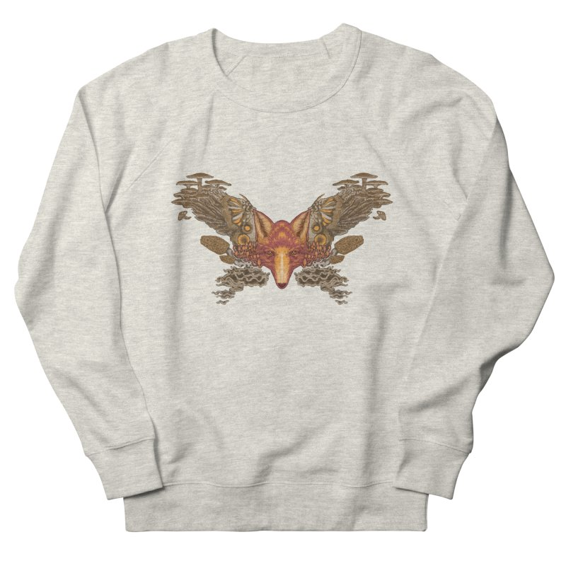 Fox fungi Men's Sweatshirt by zonka's Artist Shop
