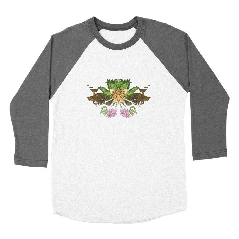 Jaguar flower Women's Longsleeve T-Shirt by Aaron Zonka's Artist Shop