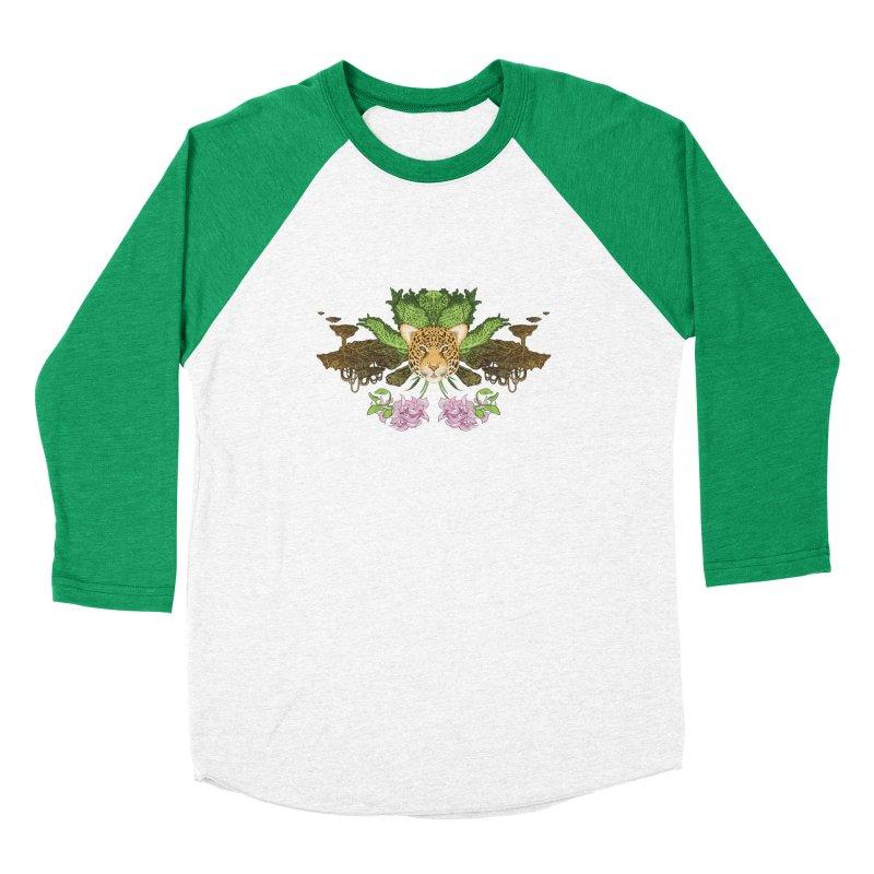 Jaguar flower Men's Longsleeve T-Shirt by Aaron Zonka's Artist Shop