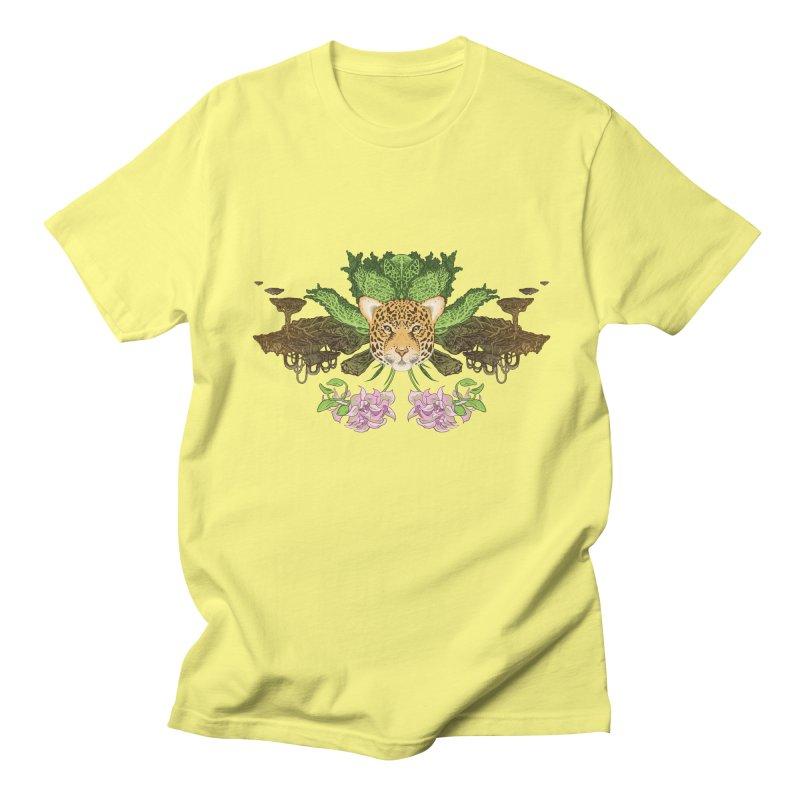 Jaguar flower Women's Unisex T-Shirt by zonka's Artist Shop