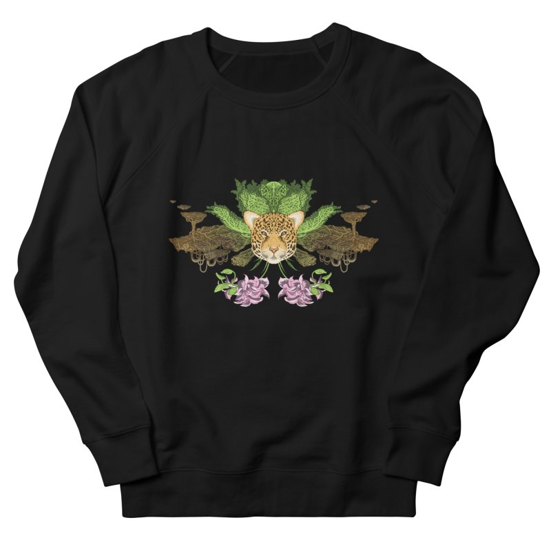 Jaguar flower Women's Sweatshirt by zonka's Artist Shop