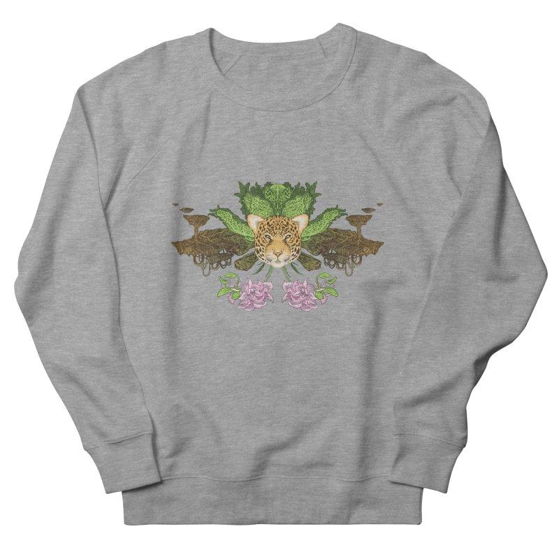 Jaguar flower Men's Sweatshirt by zonka's Artist Shop