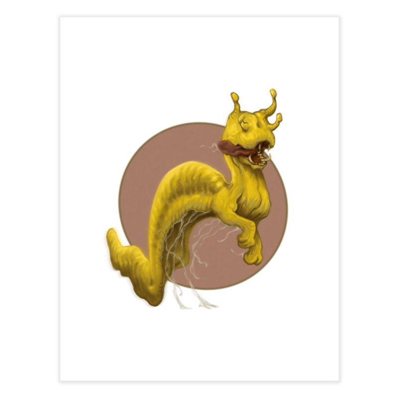 Banana Slug Beast Home Fine Art Print by Aaron Zonka's Artist Shop