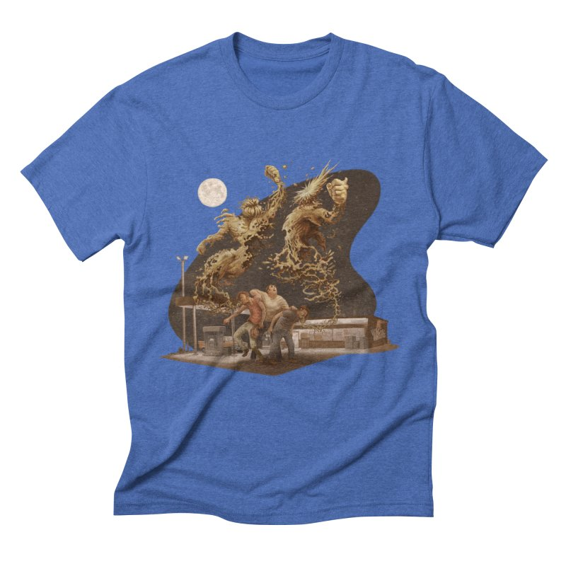 Puke Titans Men's T-Shirt by Aaron Zonka's Artist Shop