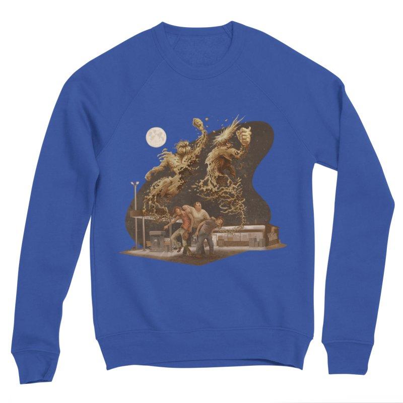 Puke Titans Men's Sweatshirt by Aaron Zonka's Artist Shop