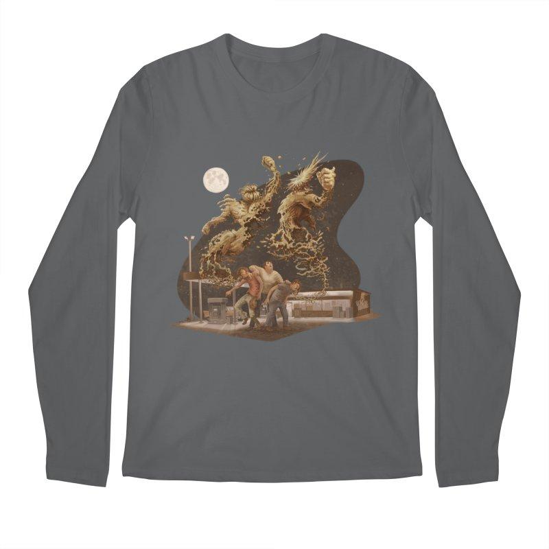 Puke Titans Men's Longsleeve T-Shirt by Aaron Zonka's Artist Shop