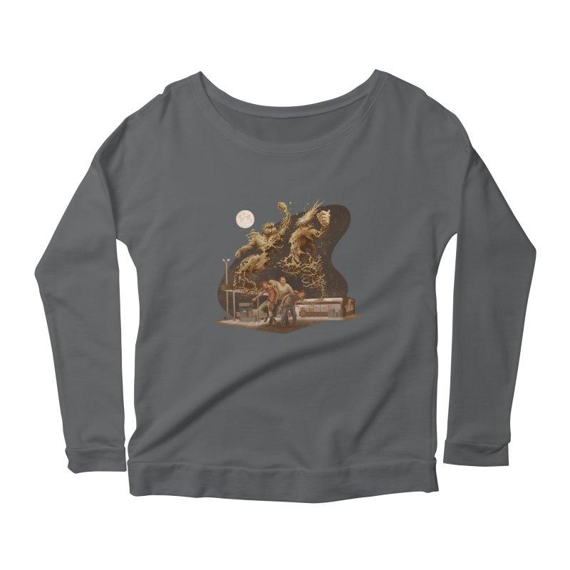 Puke Titans Women's Longsleeve T-Shirt by Aaron Zonka's Artist Shop