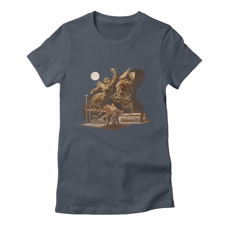 Puke Titans Women's T-Shirt by Aaron Zonka's Artist Shop