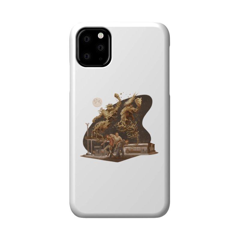 Puke Titans Accessories Phone Case by Aaron Zonka's Artist Shop