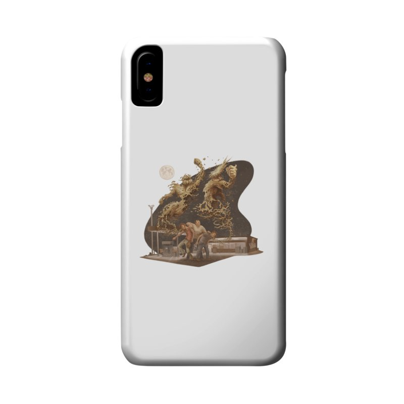 Puke Titans Accessories Phone Case by Aaron Zonka's Artist Shop