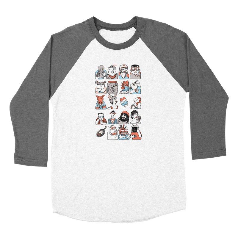 Group photo Women's Longsleeve T-Shirt by Aaron Zonka's Artist Shop