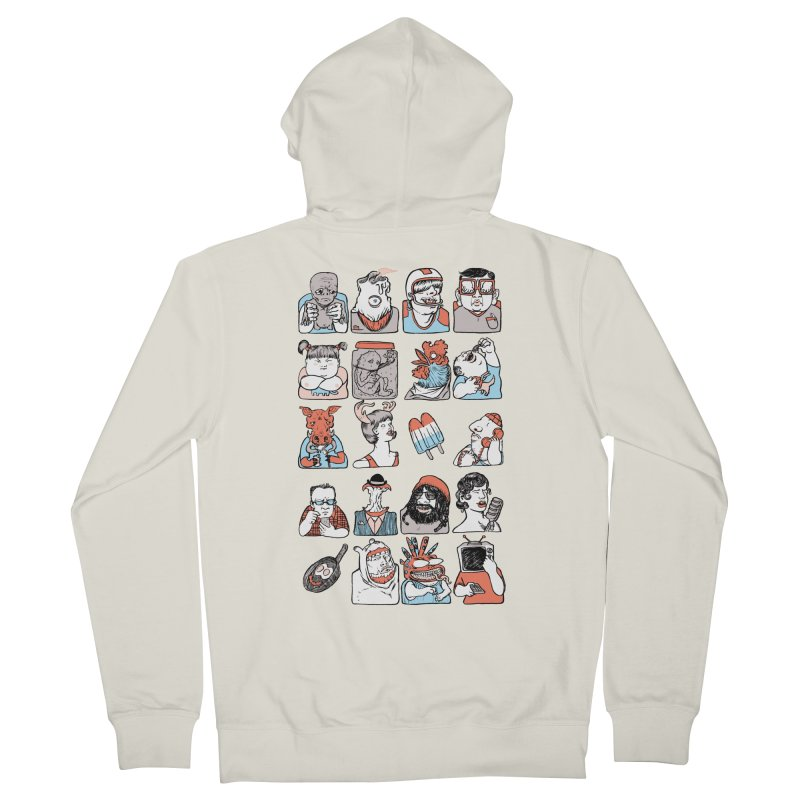 Group photo Women's Zip-Up Hoody by zonka's Artist Shop
