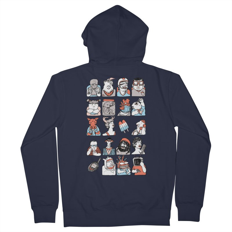 Group photo Women's Zip-Up Hoody by Aaron Zonka's Artist Shop