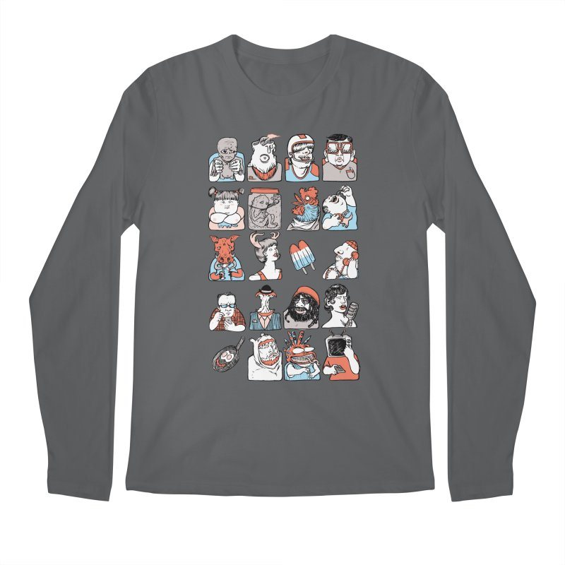 Group photo Men's Longsleeve T-Shirt by zonka's Artist Shop