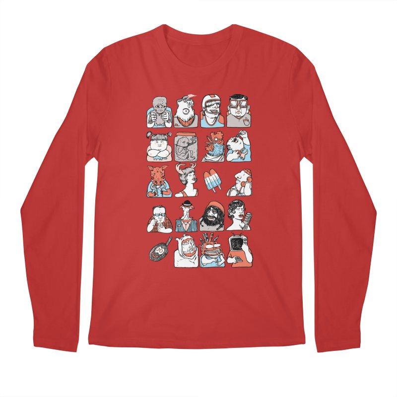 Group photo Men's Longsleeve T-Shirt by zonka's Artist Shop