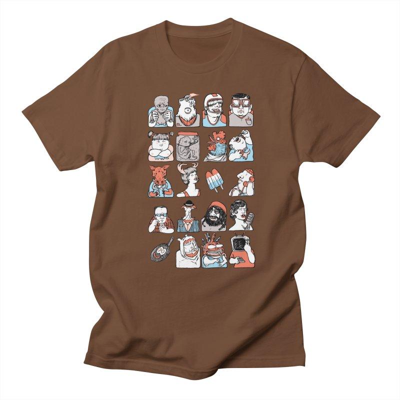 Group photo Women's Unisex T-Shirt by zonka's Artist Shop