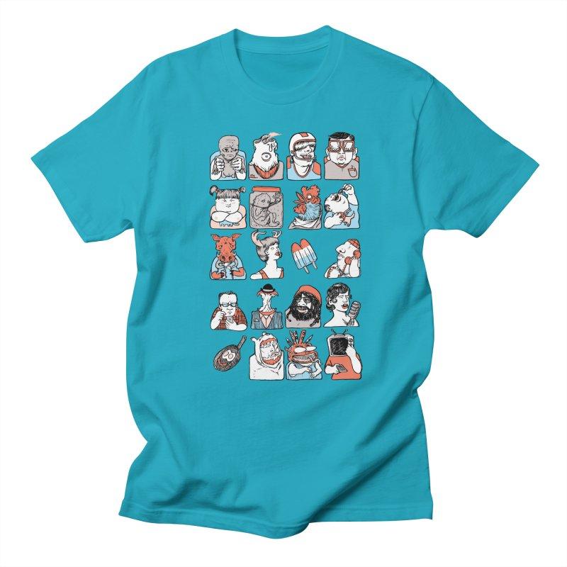Group photo Men's Regular T-Shirt by zonka's Artist Shop