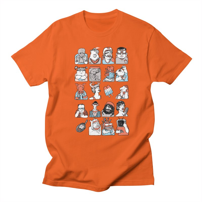Group photo Men's T-Shirt by Aaron Zonka's Artist Shop