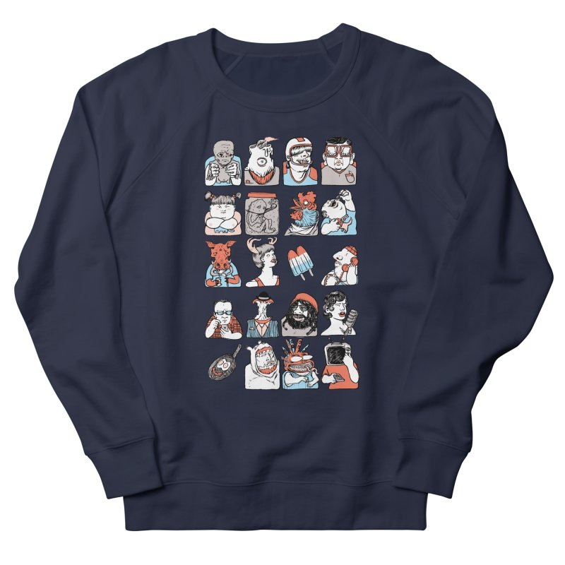 Group photo Women's French Terry Sweatshirt by zonka's Artist Shop
