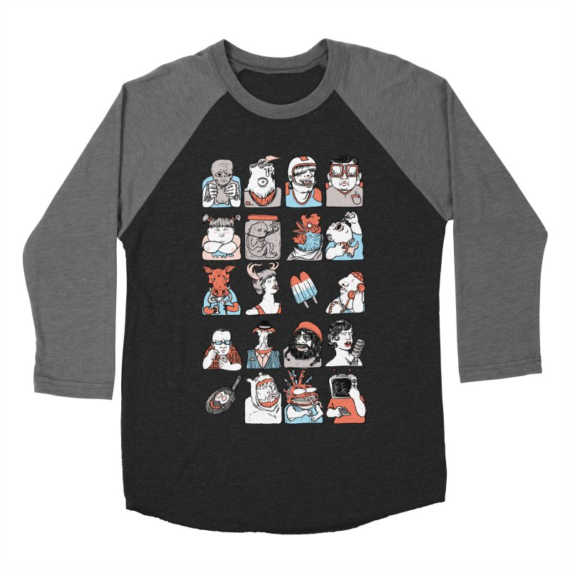 Group photo Women's Baseball Triblend T-Shirt by zonka's Artist Shop