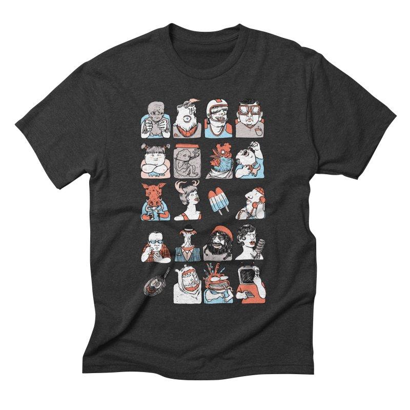 Group photo Men's Triblend T-shirt by zonka's Artist Shop