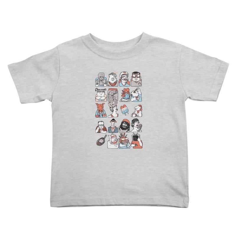 Group photo Kids Toddler T-Shirt by zonka's Artist Shop