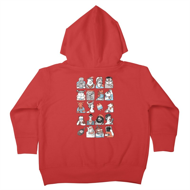 Group photo Kids Toddler Zip-Up Hoody by Aaron Zonka's Artist Shop